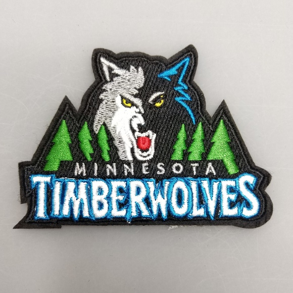 Minnesota Timberwolves Logo Nba Embroidery Patch Iron And Sewing